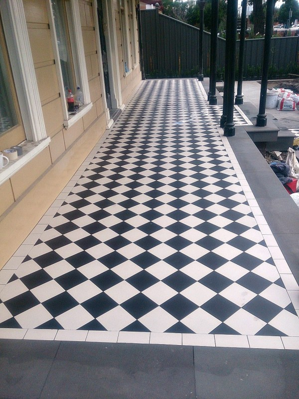 Tessellated Tiles Federation Art Deco Victorian