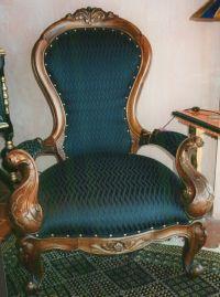 Victorian Grandfather: Victorian Grandfather Chair