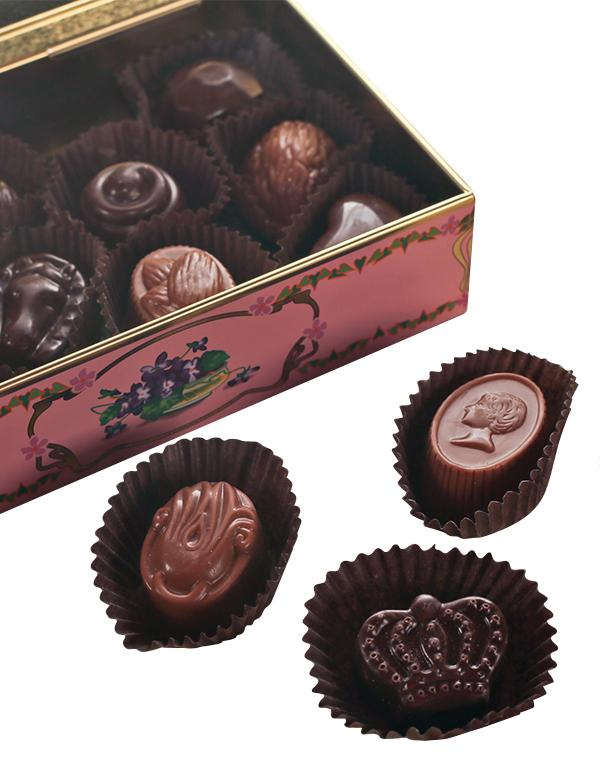 Orchid Truffle Collection  Louis Sherry Chocolate Truffles