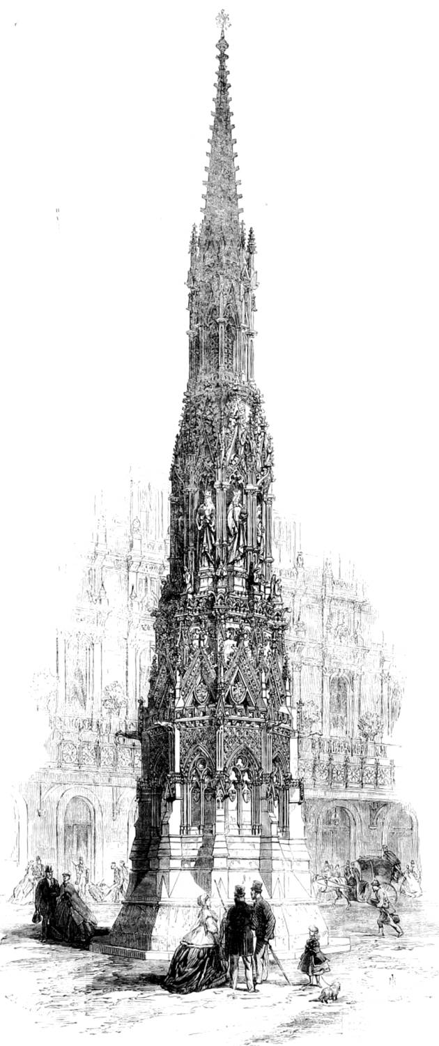 The Eleanor Cross, Charing Cross, London