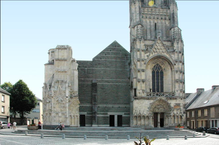 Churches about which Ruskin wrote  Cathedral of St L now lglise de NotreDame France