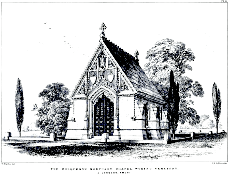 The Colquhuon Mortuary Chapel, Brookwood Cemetery, by John