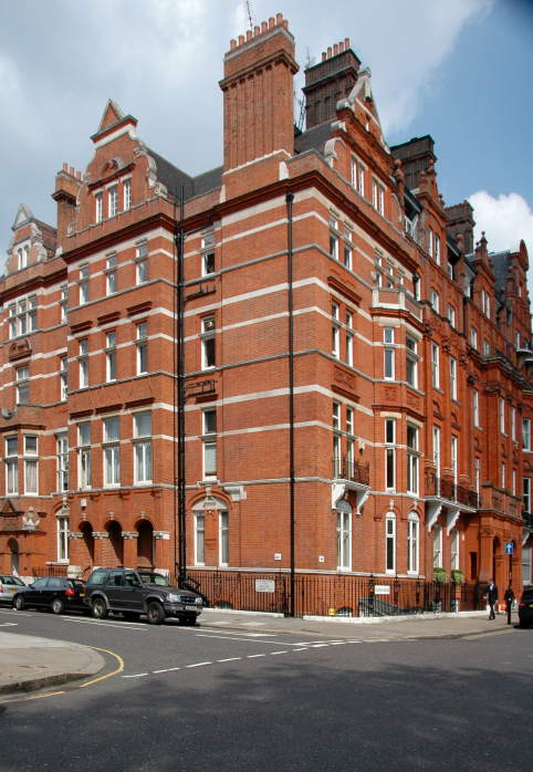 Cadogan Square Buildings by Richard Norman Shaw