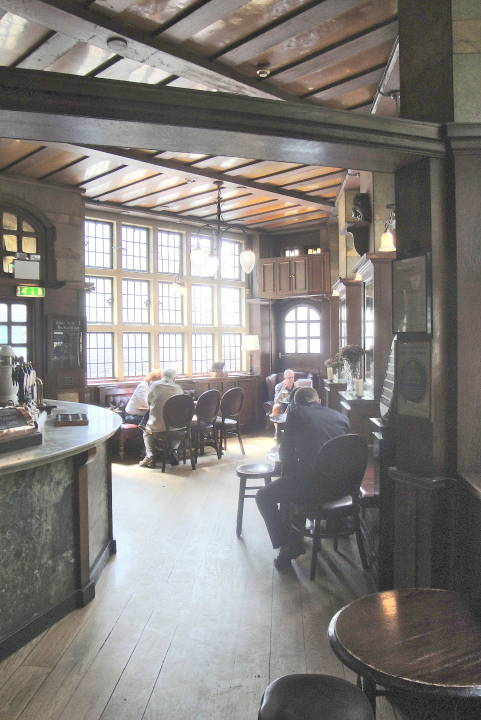 The Interior Of The Black Friar Pub