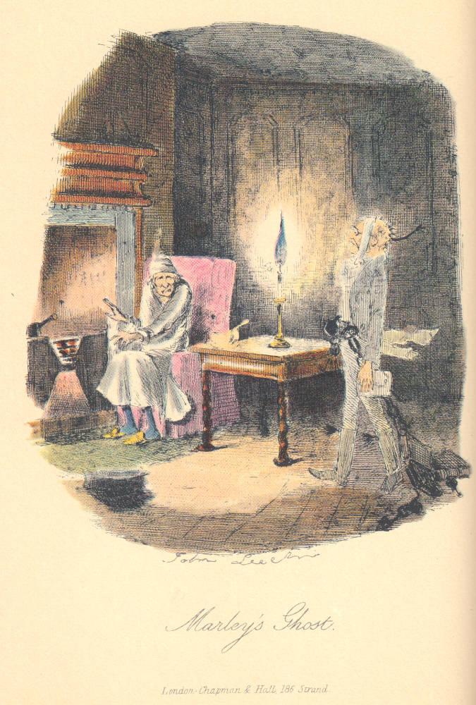 Αποτέλεσμα εικόνας για scrooge's third visitor