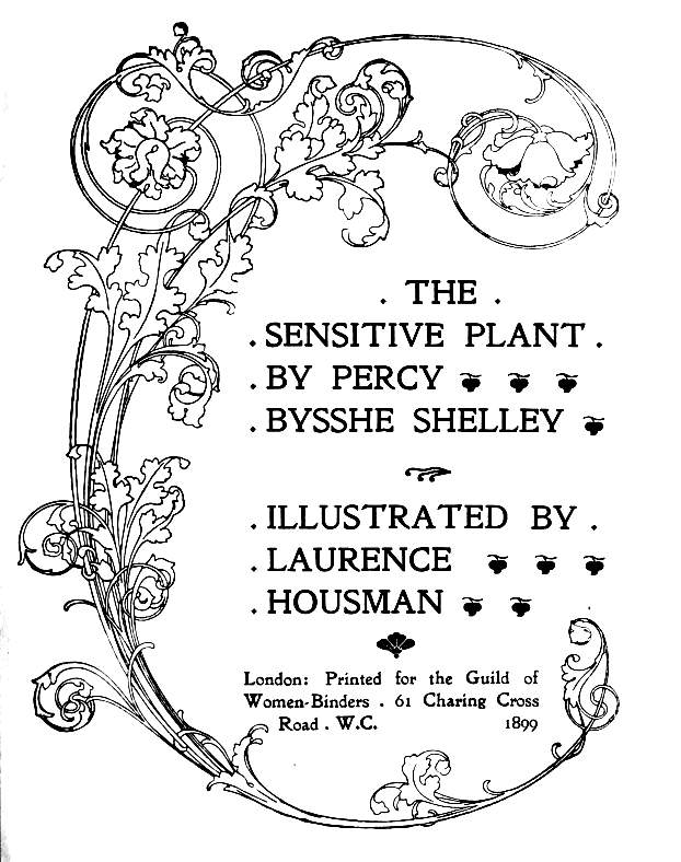 Title-page for Shelley's