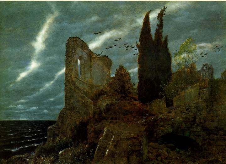 Image result for ruins by the sea