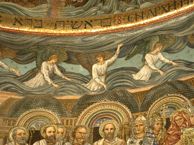 mosaic by Burne-Jones