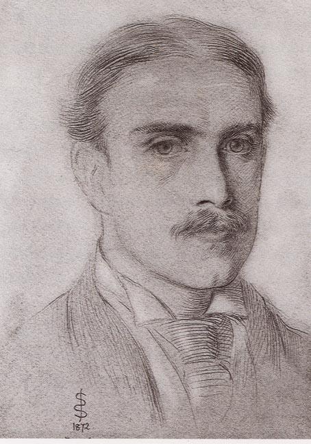 Image result for simeon solomon portrait of pater