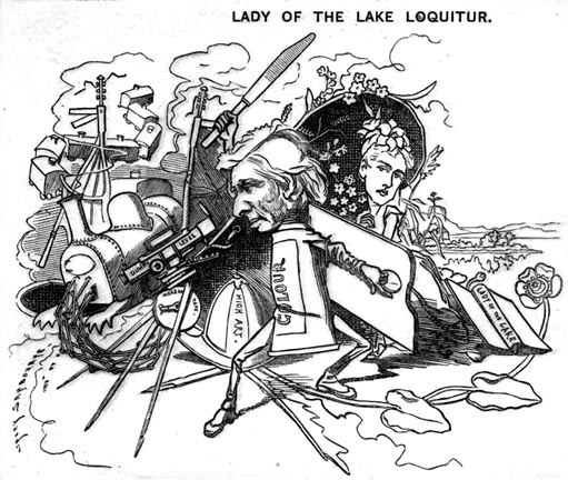 Lady of the Lake Loquitor