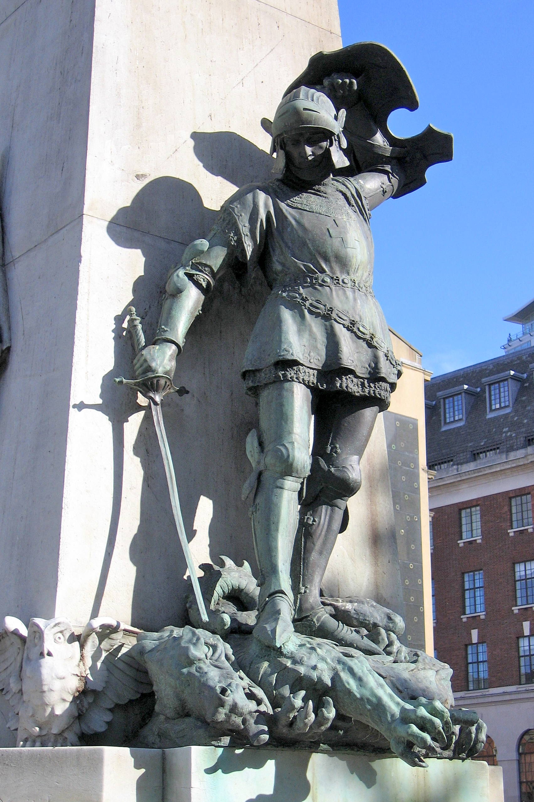 The Leeds War Memorial by Henry Charles Fehr 18671940