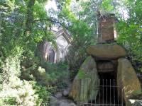 The English-style romantic landscape garden in Arkadia