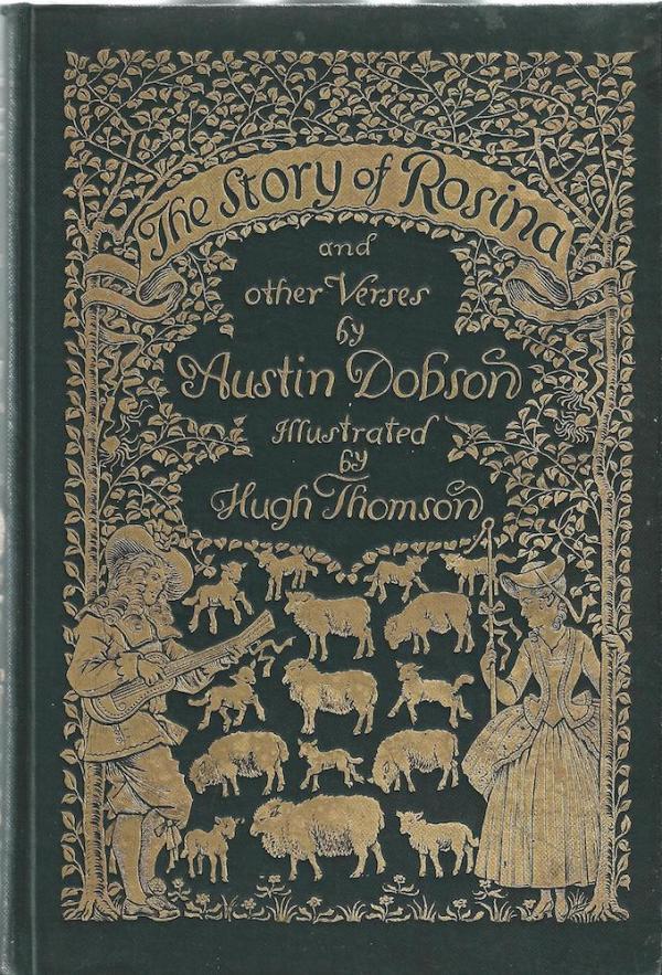 Hugh Thomson 1860 1920 -illustrator And Book Cover Designer
