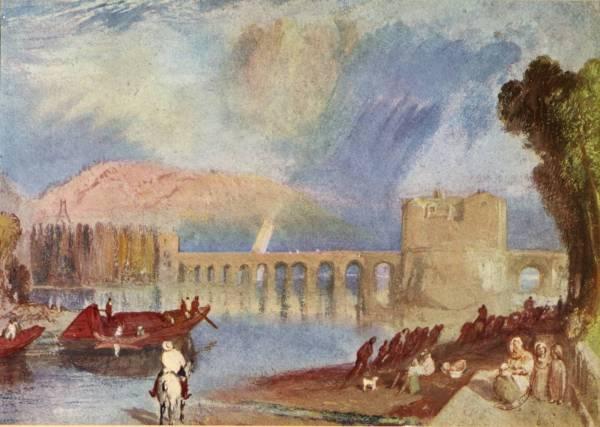 """Turner' """" Bridge Of Meulan"""""""