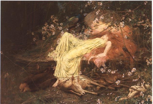 Fall Fairys Wallpapers Victorian Fairy Painting