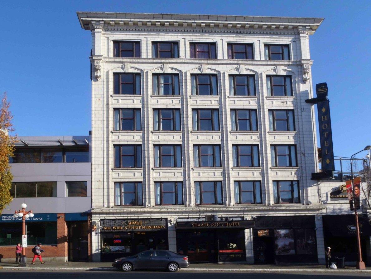 Strathcona Hotel, <a href=