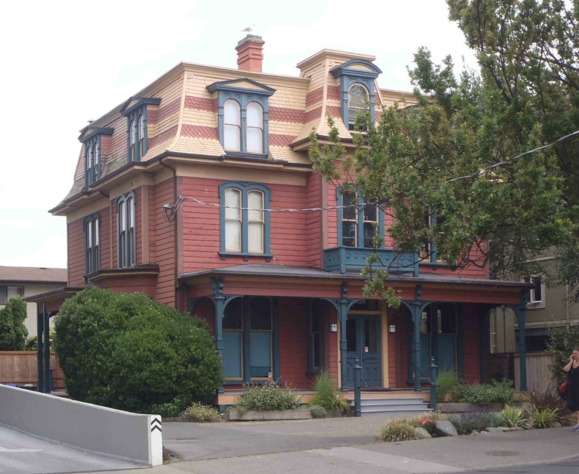 1124 Fort Street. (photo by Victoria Online Sightseeing)