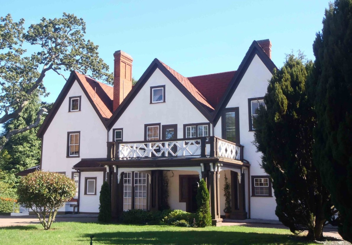 "1462 Rockland Avenue, Originally the Barnard family home, known as ""Duvals"""