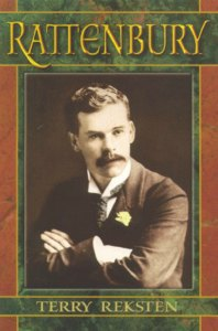 Book cover, Rattenbury by Terry Reksten.