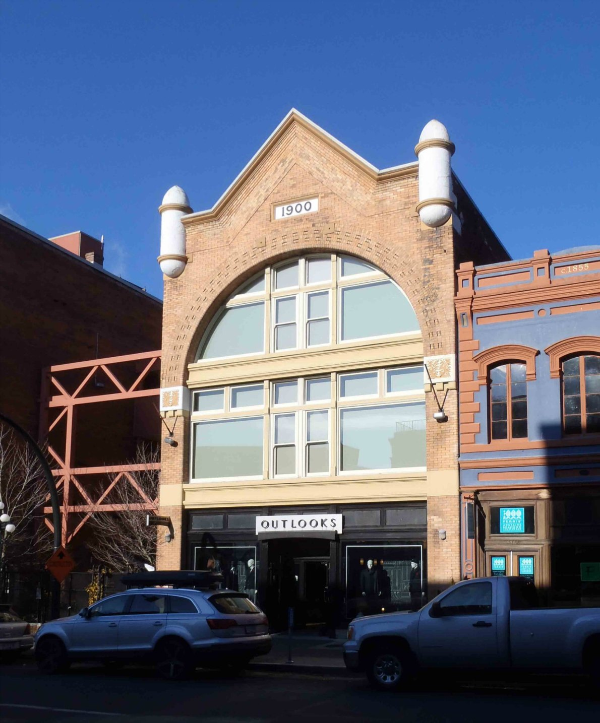 Earle Building. 530-534 Yates Street. Built in 1900 as a warehouse for Thomas Earle by architect Thomas Hooper.