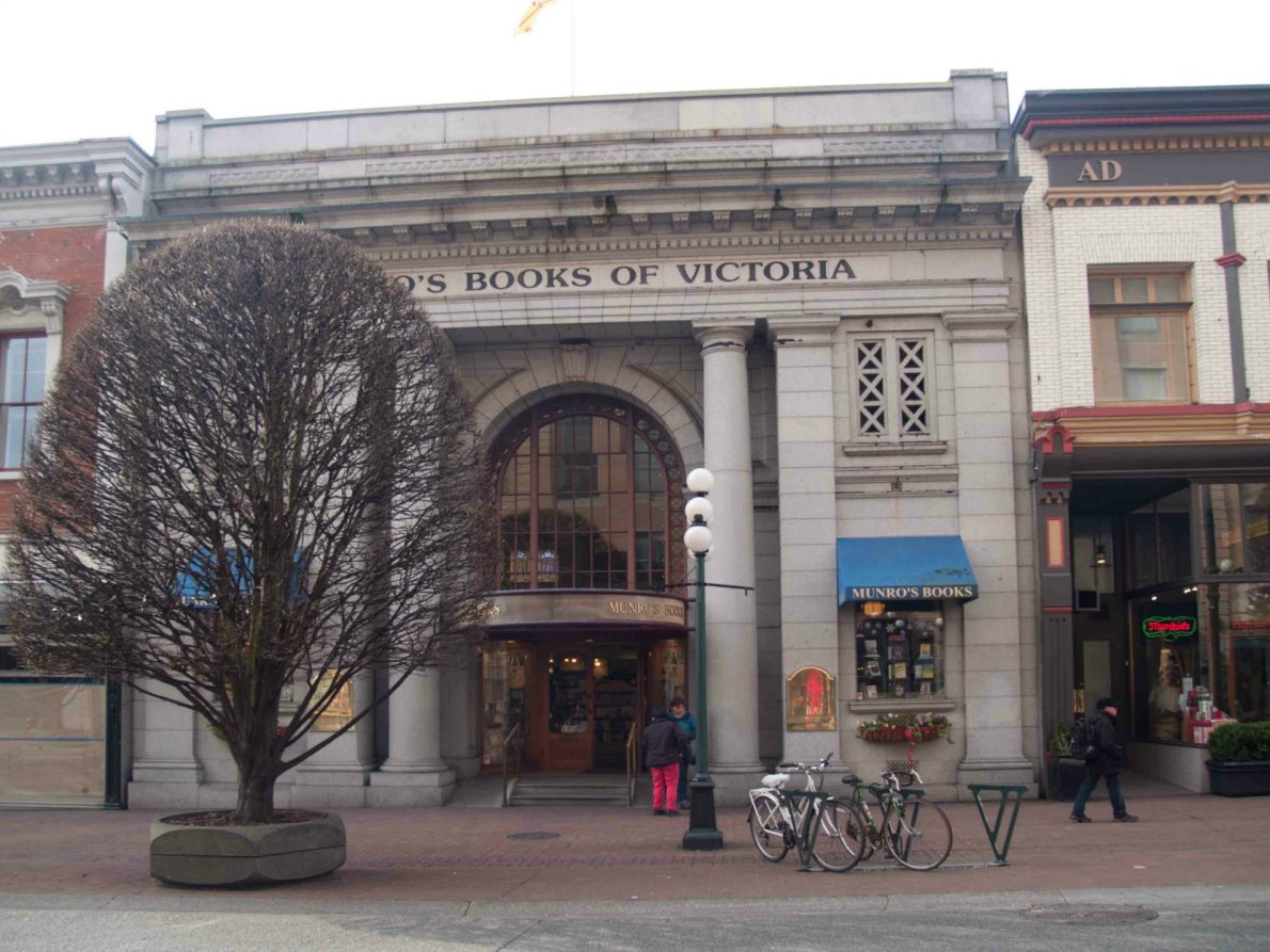 Munro's Books, 1108 Government Street (photo by Victoria Online Sightseeing Tours)