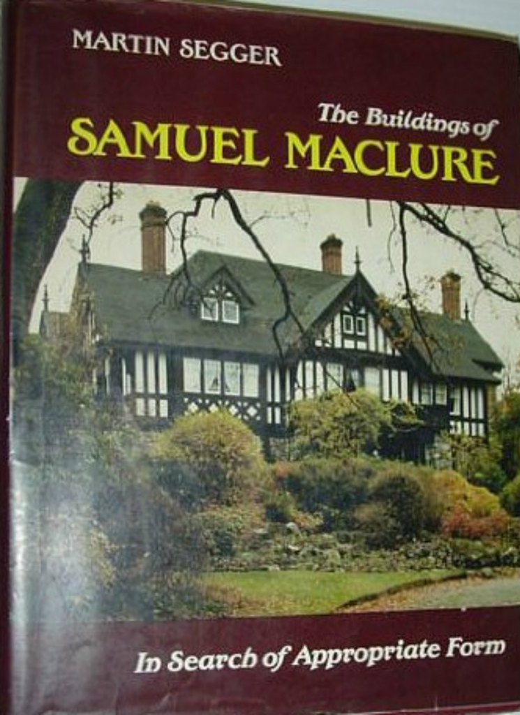 Book cover, Samuel Maclure: In Search of Appropriate Form, by Martin Segger