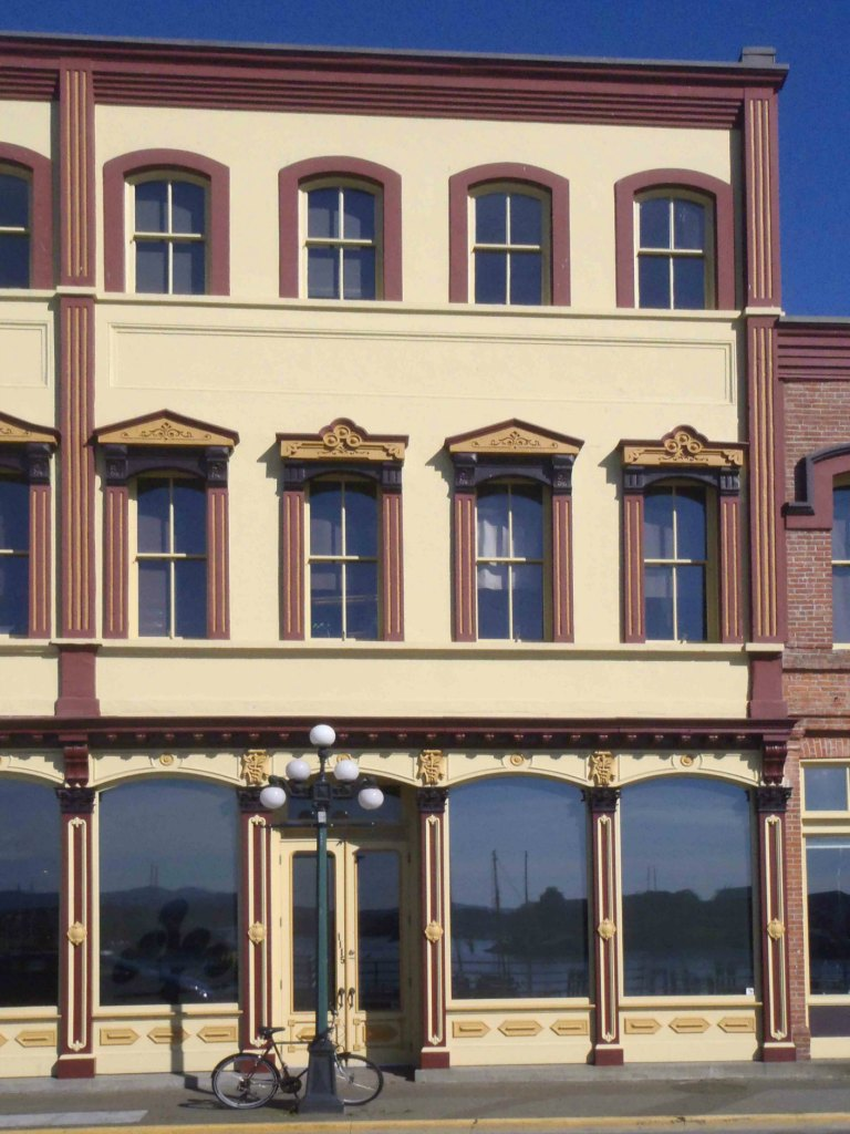 This section of the Rithet Building was added in 1888. (photo by Victoria Online Sightseeing)