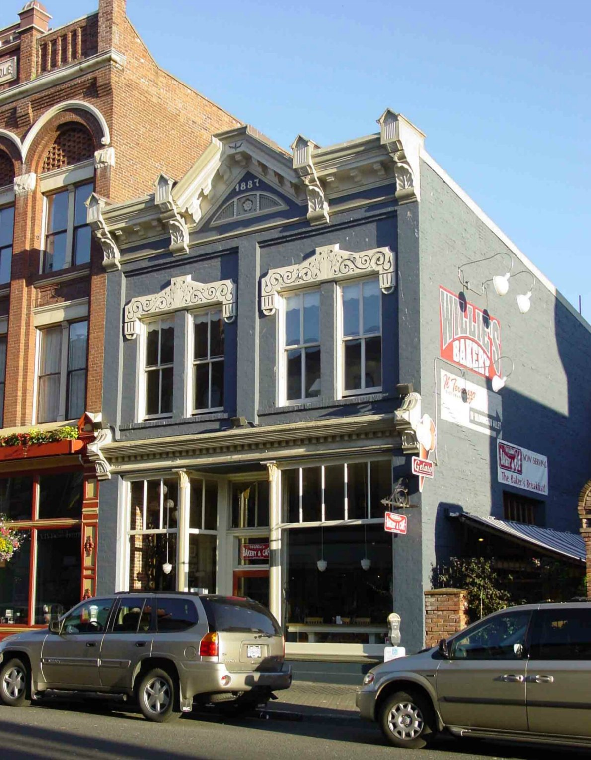 537 Johnson Street, Wille's Bakery, built in 1887 by architect Elmer H. Fisher for Louis Wille.