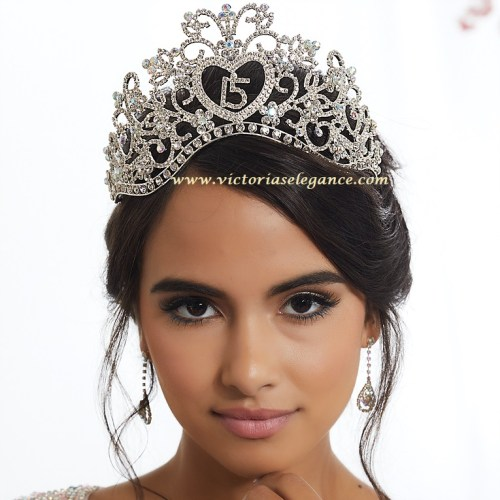 Princess, Tiara, Rhinestone Tiara, My Sweet 16 Tiara, Headpiece