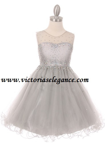 Style 5029 shown in silver @ www.victoriaselegance.com