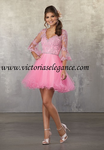 Style 9473 shown in Bubble available @ www.victoriaselegance.com