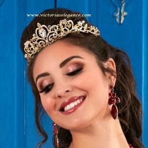 Royale, Princess, Tiara, Rhinestone Tiara