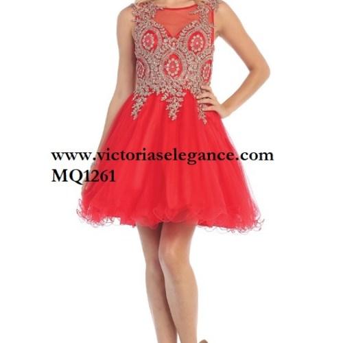 Short Tulle Dress, homecoming dress, dama's dress, prom gala pageant, sweet 16