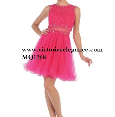 Short Tulle Dress, bridesmaid dress, dama's dress, prom gala pageant, sweet 16