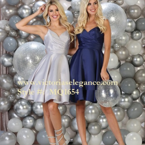 Short Satin Dress, bridesmaid dress, dama's dress, prom gala pageant, sweet 16