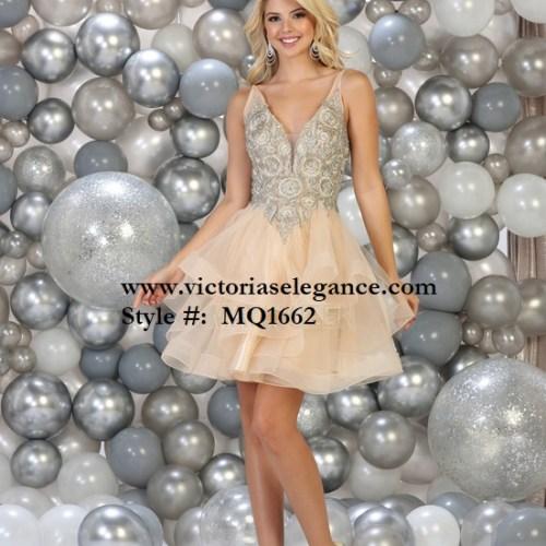 Short Flounced Ruffled Tulle Dress, bridesmaid dress, dama's dress, prom gala pageant, sweet 16