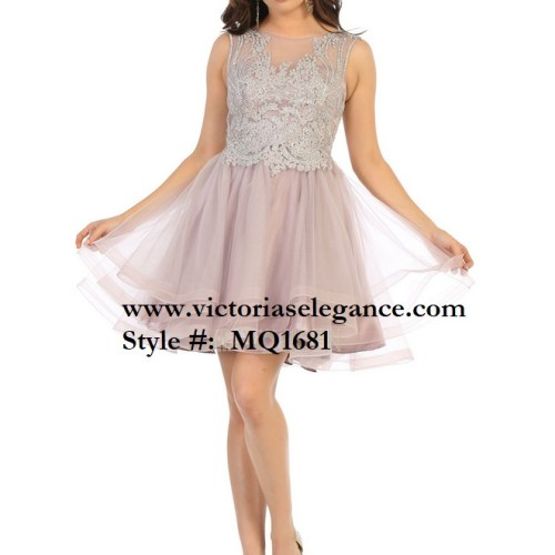 Short ruffled tulle dress, bridesmaid dress, dama's dress, prom gala pageant, sweet 16