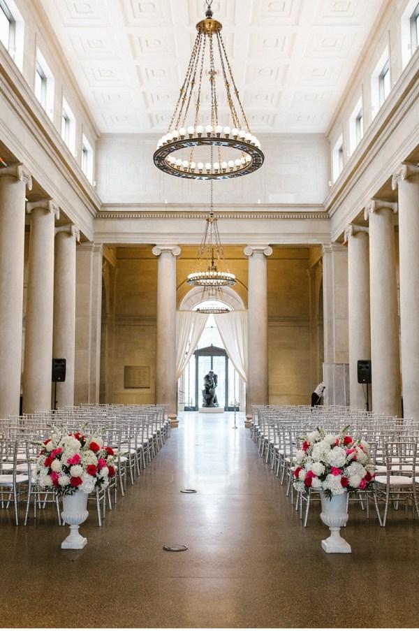 Baltimore Museum Of Art Wedding Caitlin Brian Victoria Selman