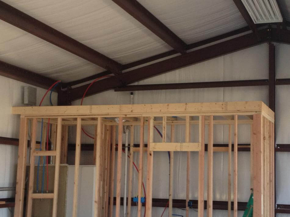 Commercial Steel Metal building erector contractor