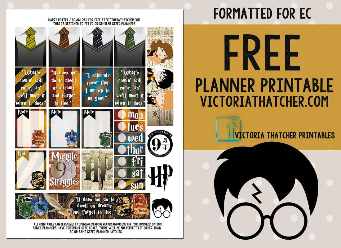 Harry Potter Printable