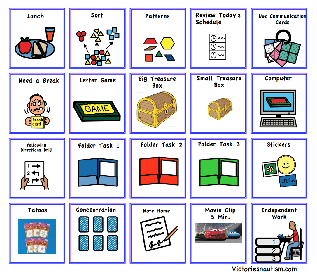 Schedule Activity And Task Cards