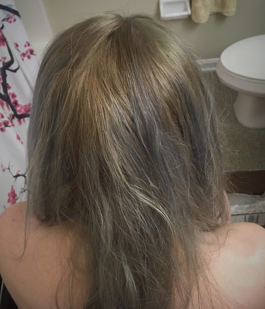 My Hair Looked Like A Quilt Overtone Extreme Silver And Vibrant