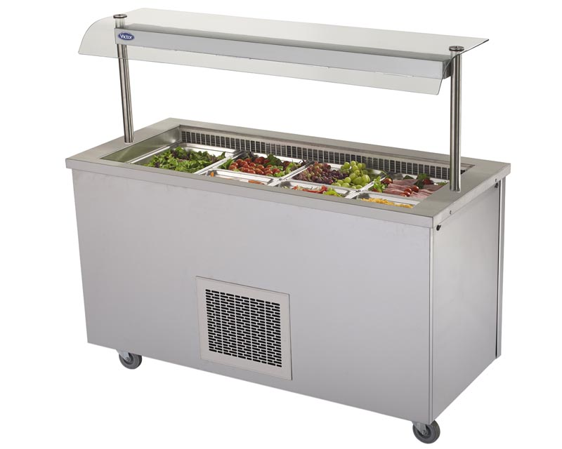 Victor Manufacturing Ltd Refrigerated Salad Well - RW40MSG