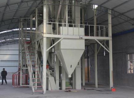 animal feed processing line