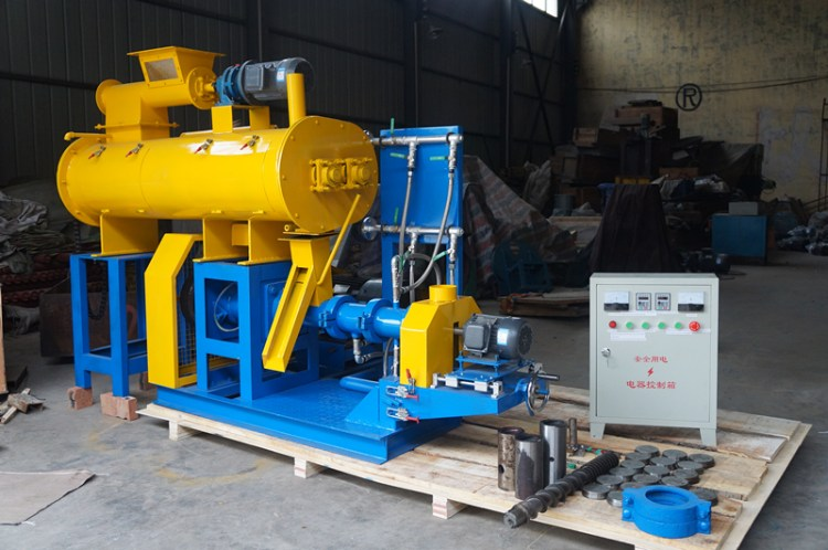 700-800KG/H fish feed extruder