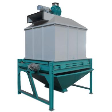 counterflow pellet cooling machine
