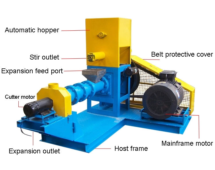 cheap fish feed making machine