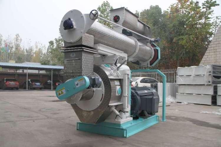 1-10T/H ring die pellet mill