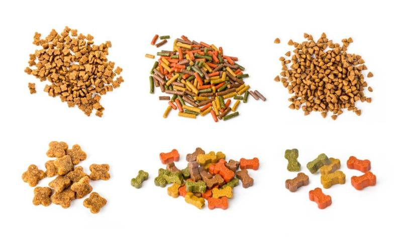 Dog food ingredients formulation