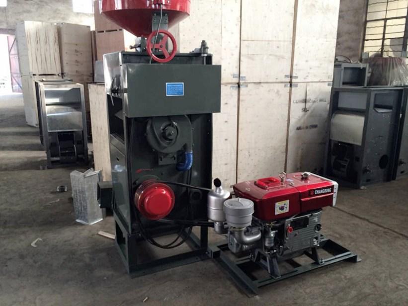 SB rice mill machine